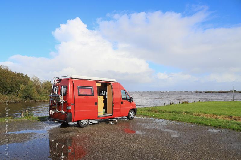 Bij het Zuidlaardermeer