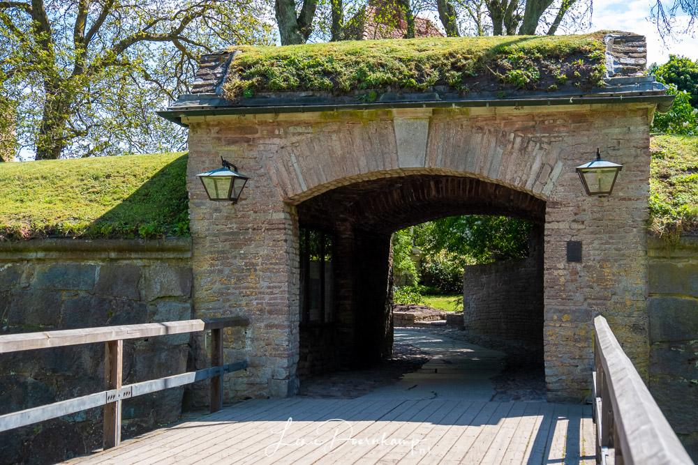 kasteel poort